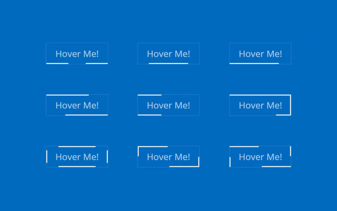 17 Line Hover Effects for Divi Button Module