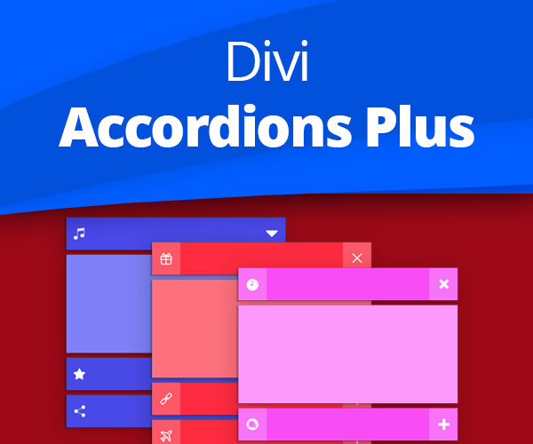 Divi Accordions Plus