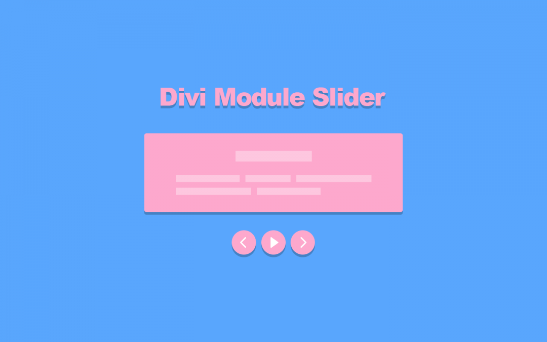Free Download: Divi Module Slider with Pause/Play Control