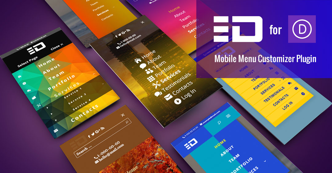Divi mobile menu customizer - Divi mobile menu ...
